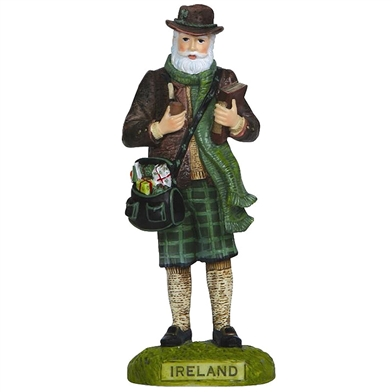 Ireland Santa - Pipka by Precious Moments Figurine, 14023