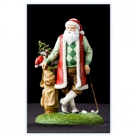 Golfing Santa - Pipka by Precious Moments Figurine, 22206
