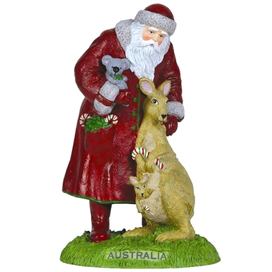 Australia Santa - Pipka by Precious Moments Figurine, 7121213