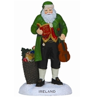 Ireland Santa - Pipka by Precious Moments Figurine, 7121215