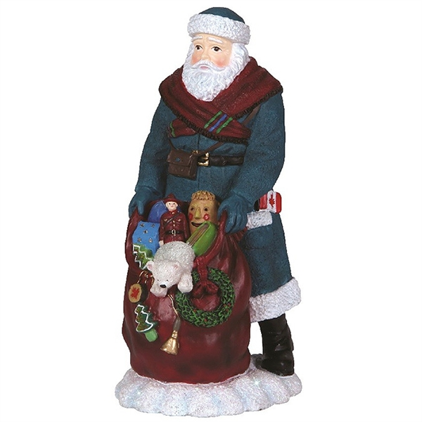 Canadian Santa Pipka By Precious Moments Figurine