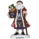 Sweden Santa - Pipka by Precious Moments Figurine, 7131215