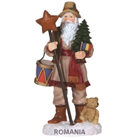Romania Santa - Pipka by Precious Moments Figurine, 7131217