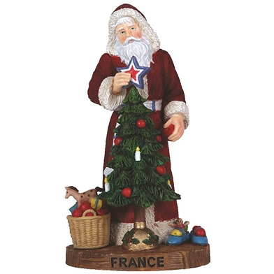 France Santa - Pipka by Precious Moments Figurine, 7131218