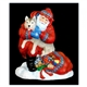 Santa with Husky Dog - Pipka by Precious Moments Figurine, 88021