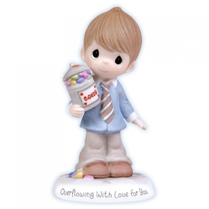 Boy with Candy Jar - Precious Moments Figurine, 103003