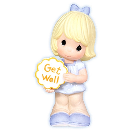 Girl with Get Well Sign - Precious Moments Figurine, 103010