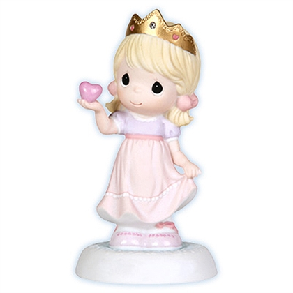 Girl Dressed as Princess - Precious Moments Figurine, 103033