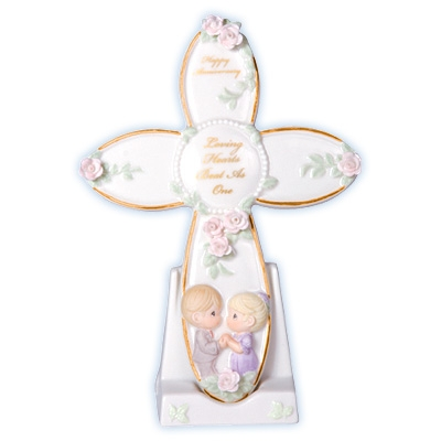 Anniversary Cross with Stand - Precious Moments, 103409