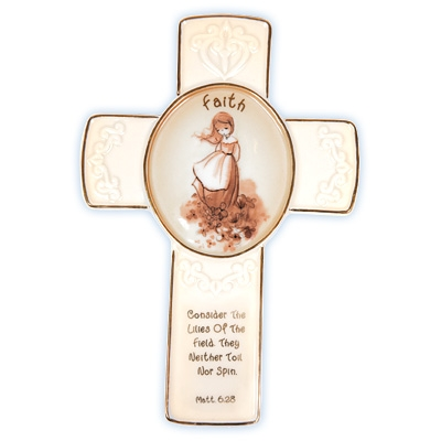 Faith Cross with Stand - Precious Moments, 103440