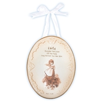 Faith Plaque with Ribbon Hanger - Precious Moments, 103443