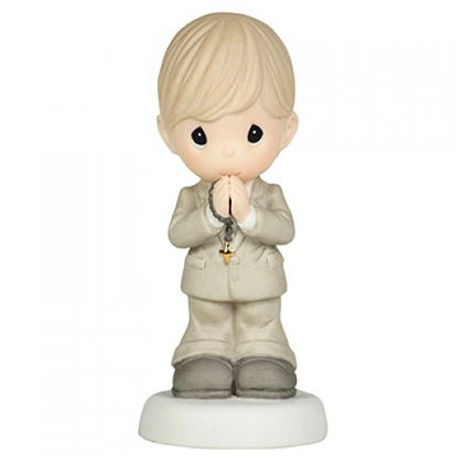 Boy in Communion Outfit - Precious Moments Figurine, 104013