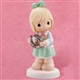 Daughter with Lucky Horseshoe - Precious Moments Figurine, 104269