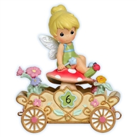 Tinker Bell Birthday Parade Car by Precious Moments Figurine 104408