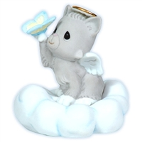Angel Cat - Precious Moments Bereavement, 113009