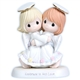 Two Girl Angels Hugging - Precious Moments Figurine, 114042