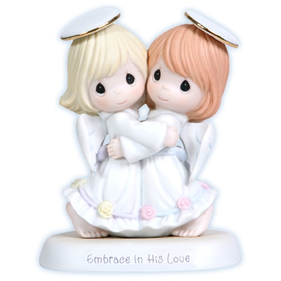 Hugging Angels Precious Moments Figurine 114042