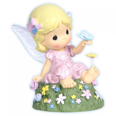 Meadow Fairy with Light-up Wings - Precious Moments Figurine, 114200