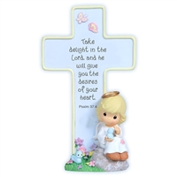 Angel Cross with Stand - Precious Moments 114408