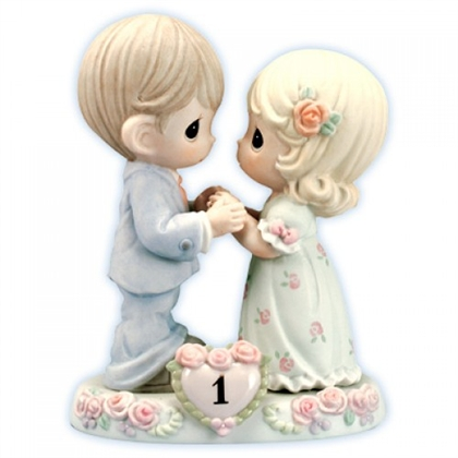 First Wedding Anniversary Precious Moments Figurine