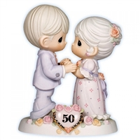 50th Wedding Anniversary - Precious Moments Figurine, 115912