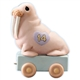 Walrus Birthday Train, Age 14 by Precious Moments Figurine, 116945