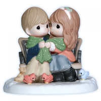 Couple on Bench - Precious Moments Figurine, 121009