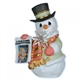 Snowman with Newspaper - Precious Moments Figurine, 121025