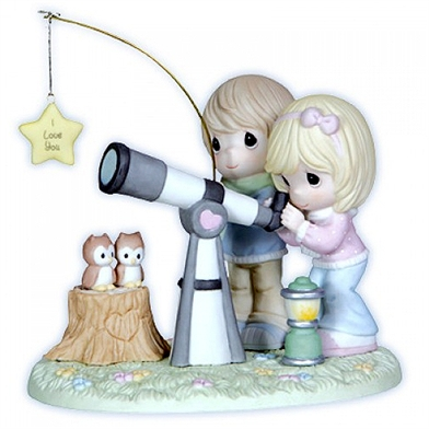 Couple with Telescope - Precious Moments Figurine, 121043