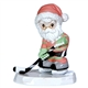 Ice Hockey Santa, Christmas Figurine - Precious Moments 121054