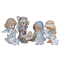 Nativity - Precious Moments 8pc Figurine Set, 131063