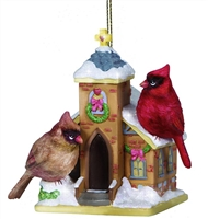 Cardinals on Chapel - Precious Moments Ornament, 131406