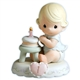 Blonde Birthday Girl, Age 1 - Precious Moments Growing in Grace Figurine, 136190
