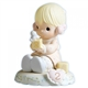Blonde Birthday Girl, Age 2 - Precious Moments Growing in Grace Figurine, 136212