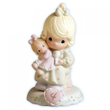 Growing In Grace, Age 4 Precious Moments Figurine, 136239