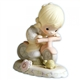 Blonde Birthday Girl, Age 6 - Precious Moments Growing in Grace Figurine, 136255