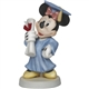 Precious Moments Minnie Mouse with Cap and Gown Figurine