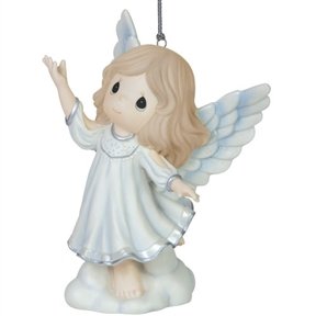 Precious Moments Singing Angel Ornament
