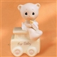 Baby Teddy Bear Birthday Train - Precious Moments Figurine, 15938