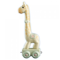 Giraffe Birthday Train Age 6 by Precious Moments Figurine 15997