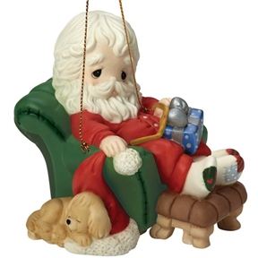Precious Moments 8th Annual Santa Ornament