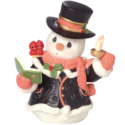 Precious Moments 7th Annual Snowman Figurine