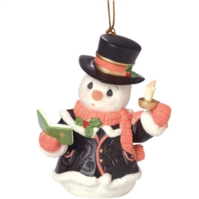 Precious Moments 7th Annual Snowman Ornament