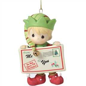 Precious Moments 1st Annual Elf Ornament
