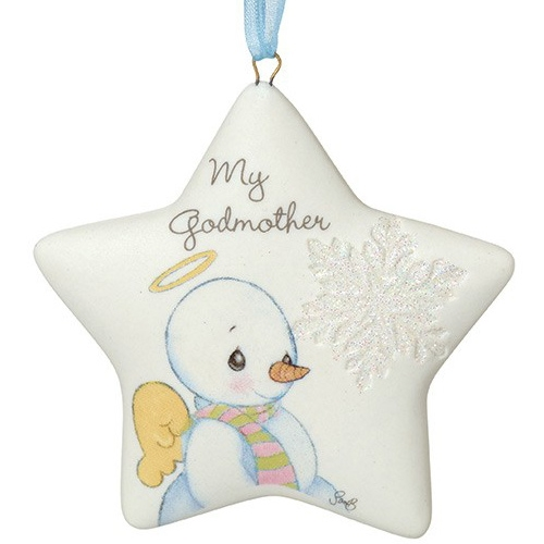 Precious Moments My Godmother Hanging Ornament 161057