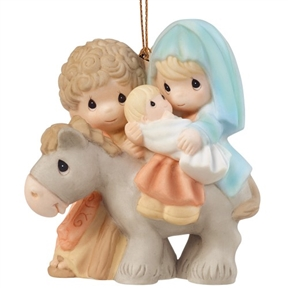 Precious Moments Holy Family Ornament