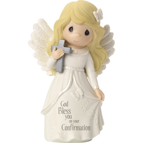 Precious Moments Girl Confirmation Angel Figurine 163052