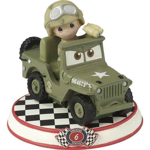 Precious Moments Sarge From Movie Cars Figurine 164436