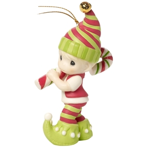 Precious Moments Sweetest Holiday Elf Ornament