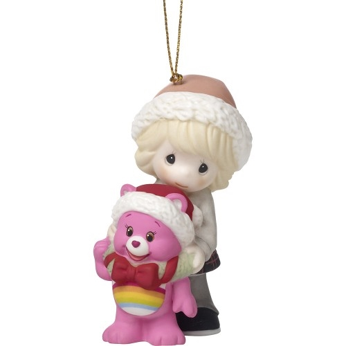 Precious Moments Girl with Care Bear Ornament 171052